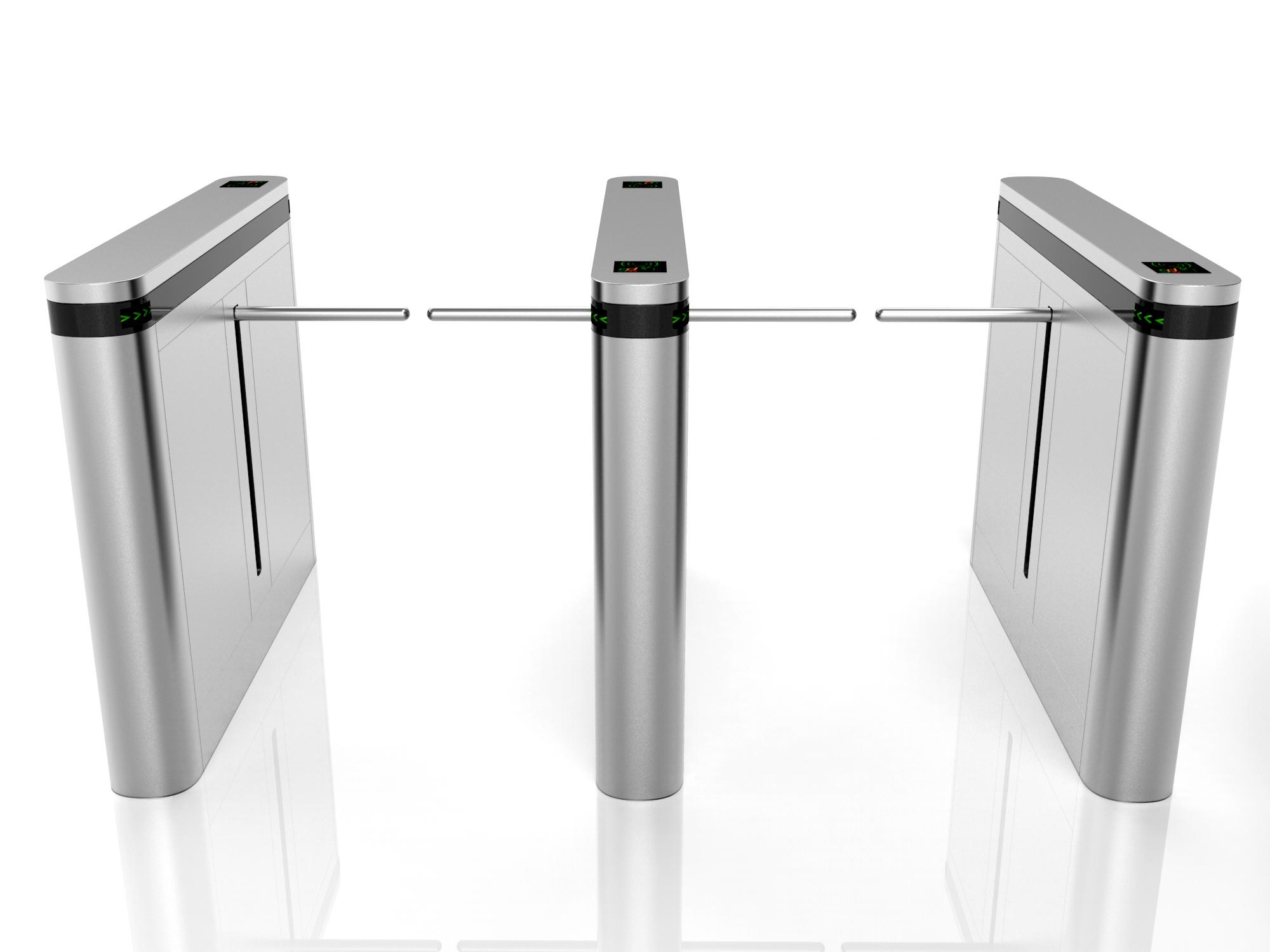 Drop arm turnstile
