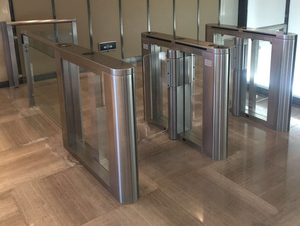 Shanghai electricity company glass turnstile